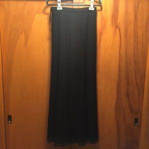Tadashi Chiffon Formal Maxi Skirt